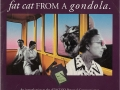 How to appease a fat cat from a gondola (front)